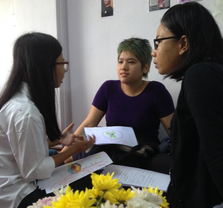 Personal Development Workshop for Women Leadership Network (We women foundation). Yangon, January 2018