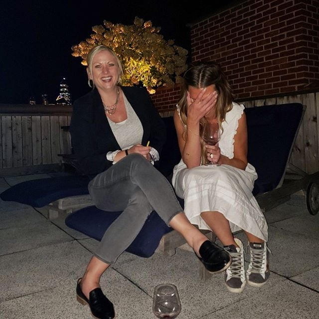 This is one of my oldest best ole' buddies @angkleino on her rooftop in NYC. But this moment could be anywhere in the world: her dropping a hard truth or hilarious statement and me taking a moment to internalize how much I love her & her bullshit.  Love you Klein-O