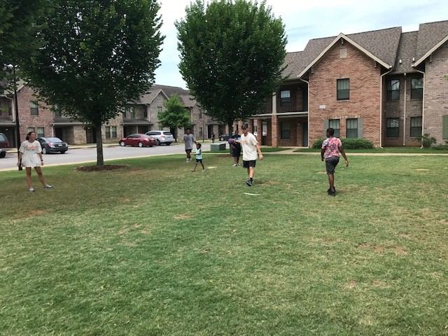 Then we had some fun and played some kickball.