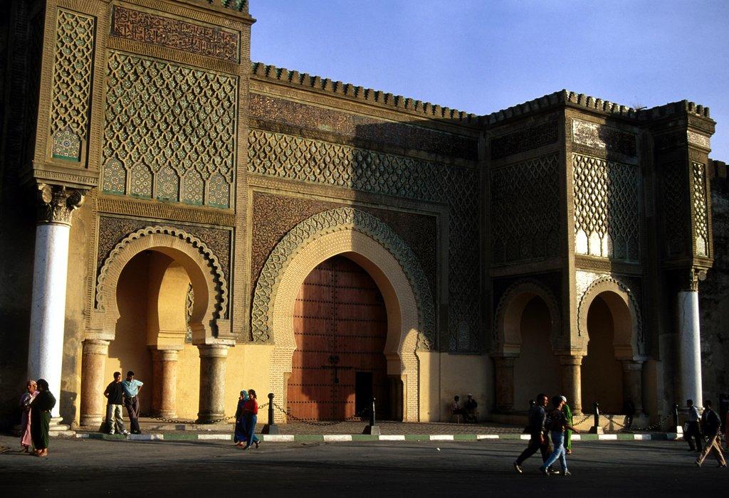 Meknes - Bab Mansour 2.JPG