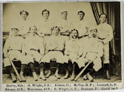 Cincinnati Red Stockings, 1869