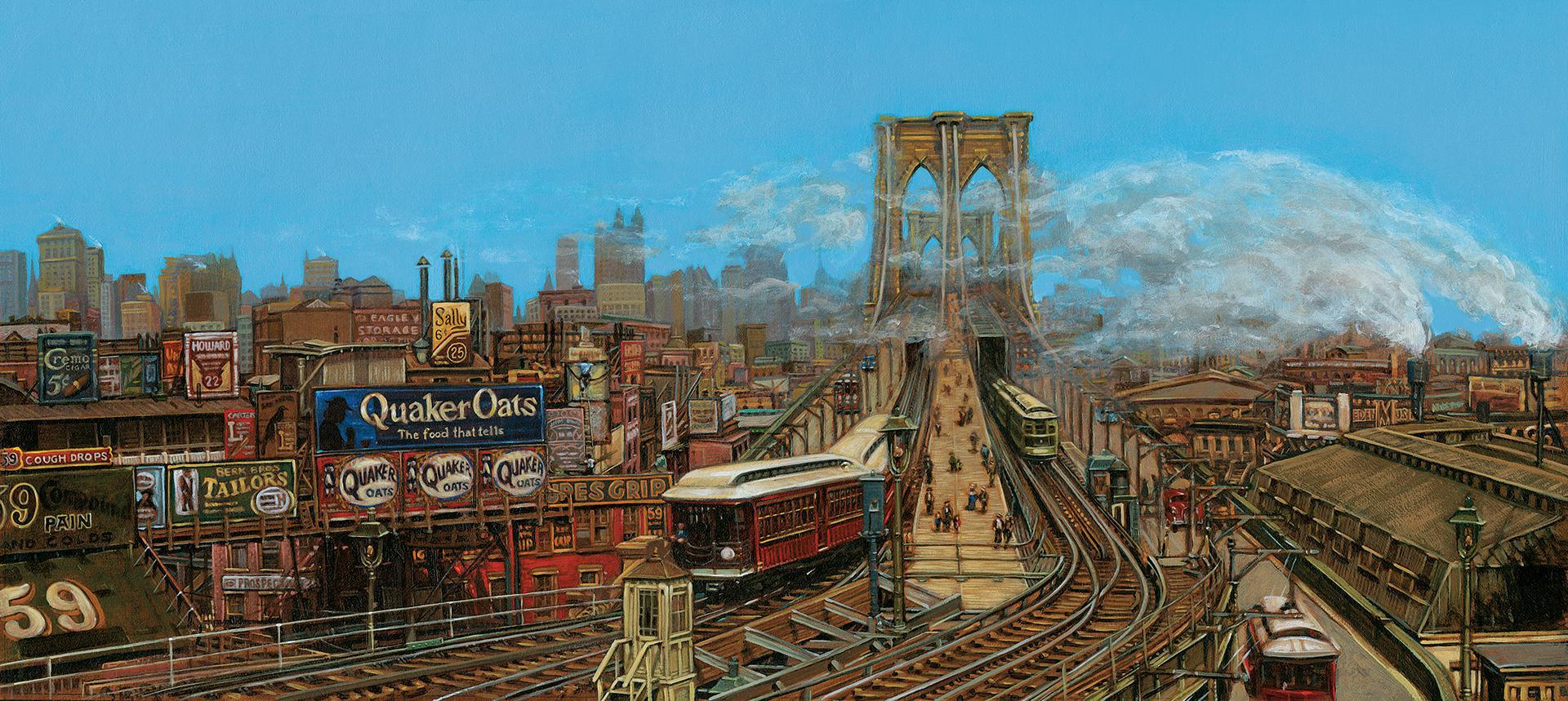 Brooklyn Bridge Morning