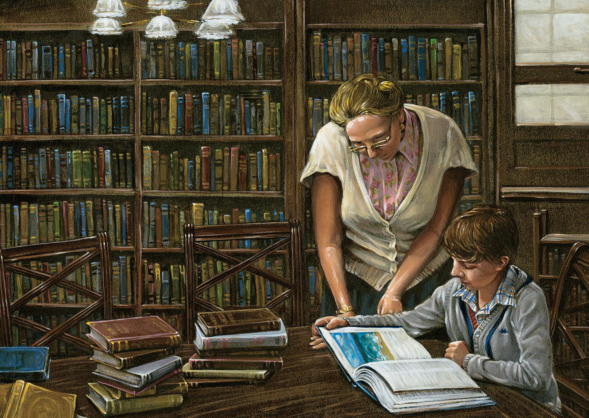 Consulting The Librarian