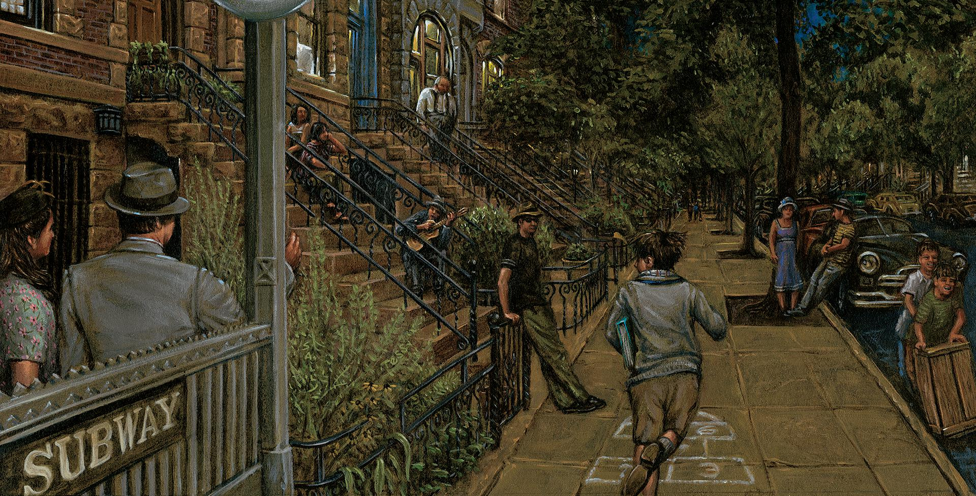 Arriving Home/Brooklyn Evening