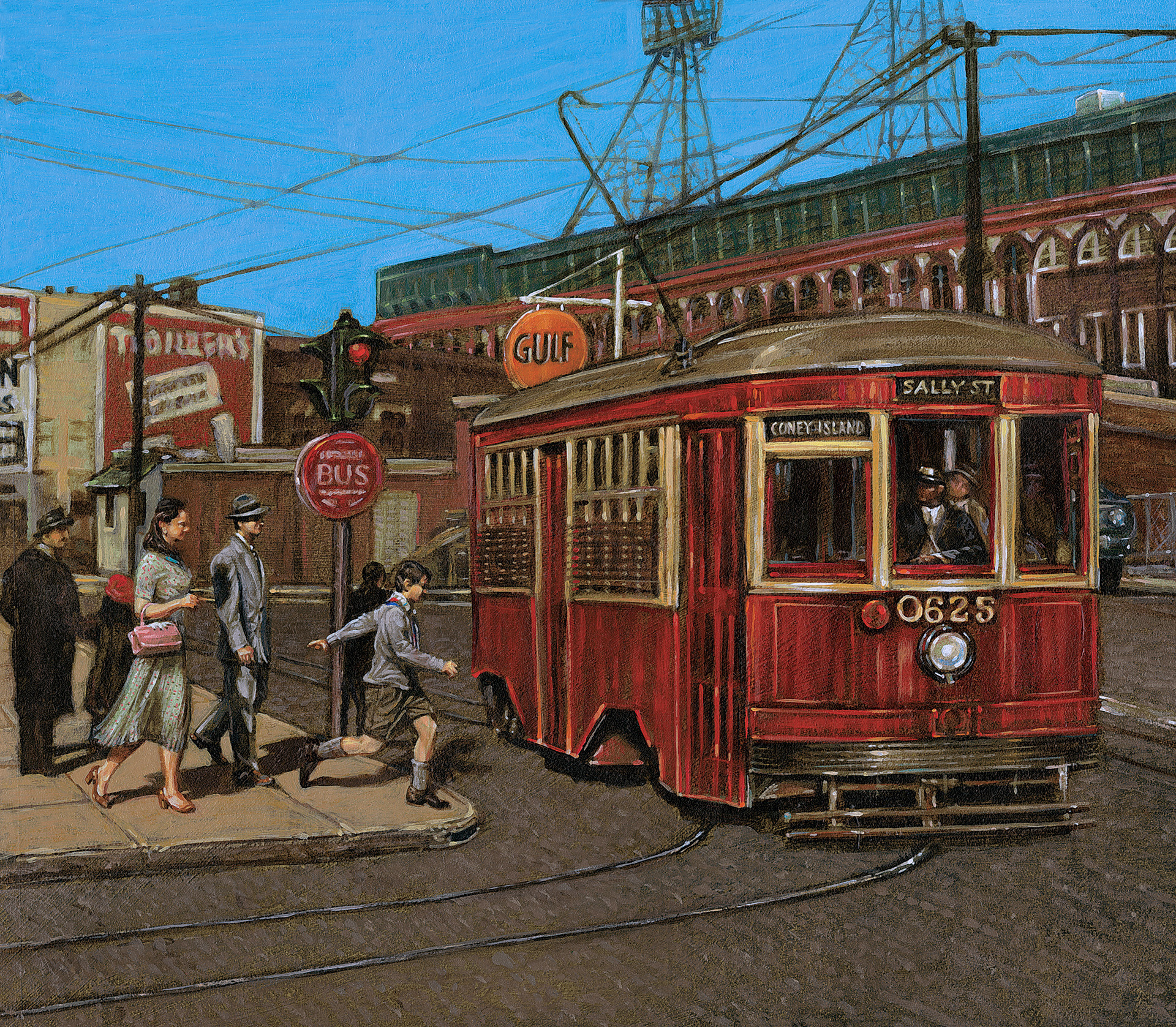 Catching TheTrolley