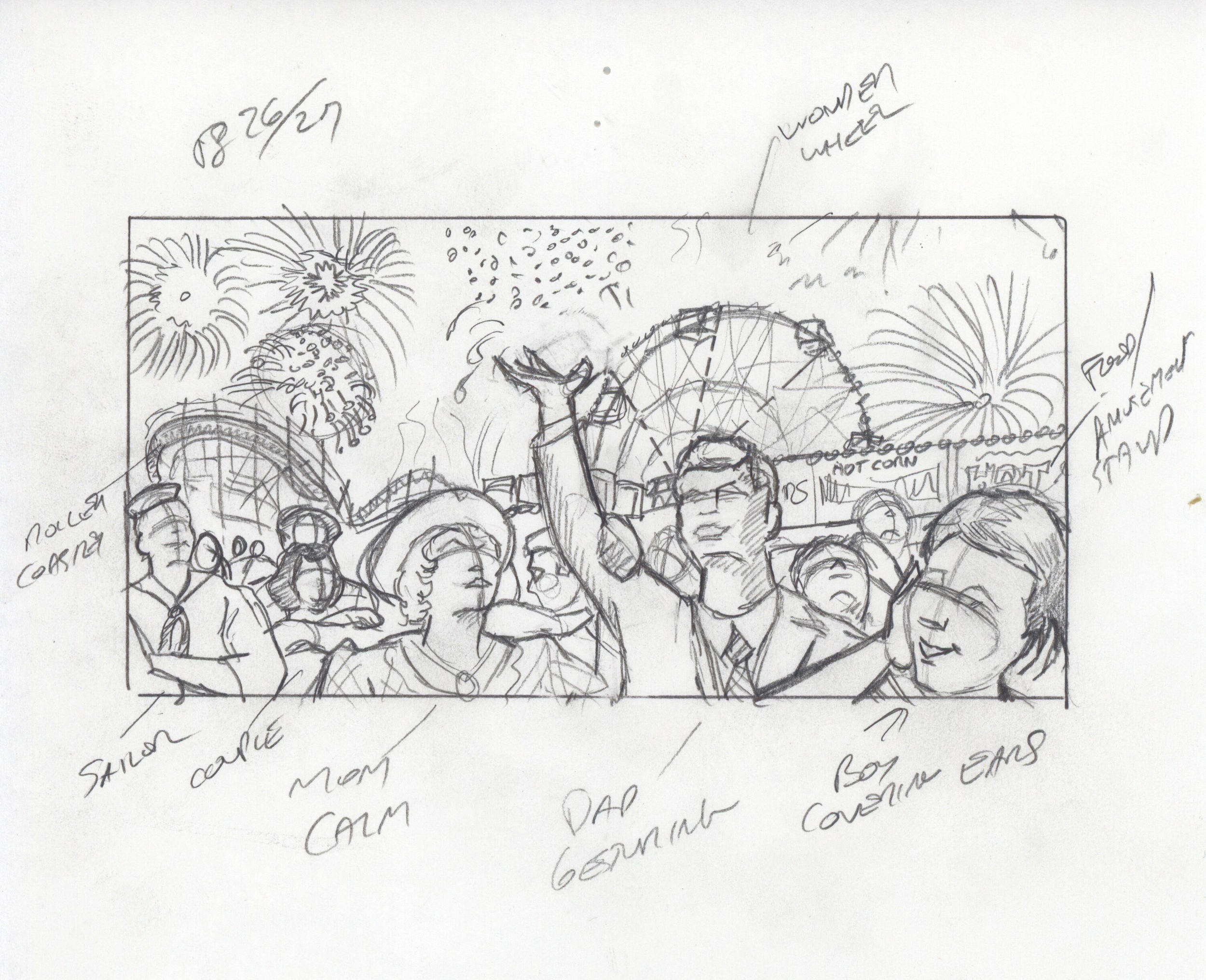 Fireworks - Sketch