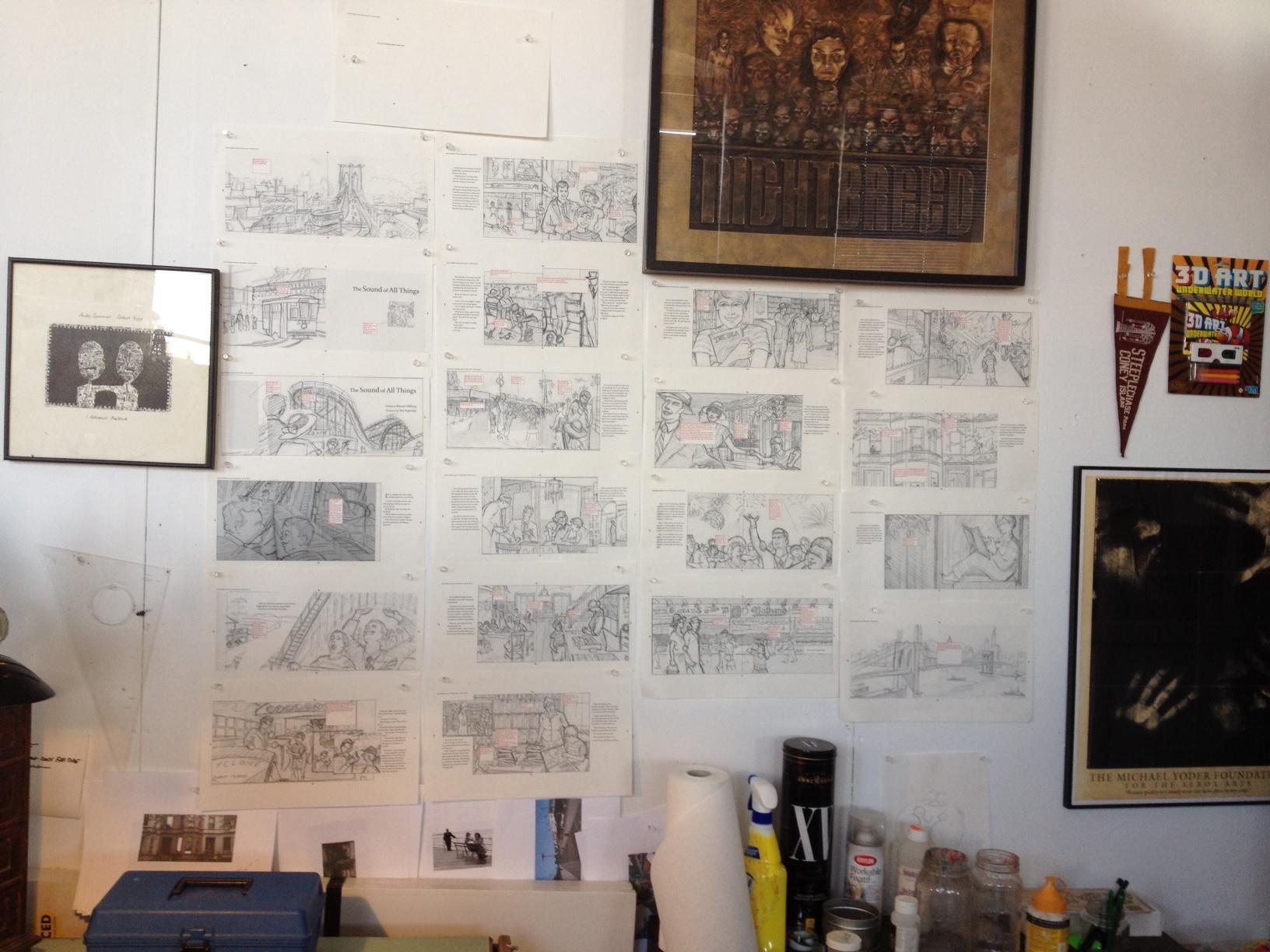 Storyboard Wall - SOAT