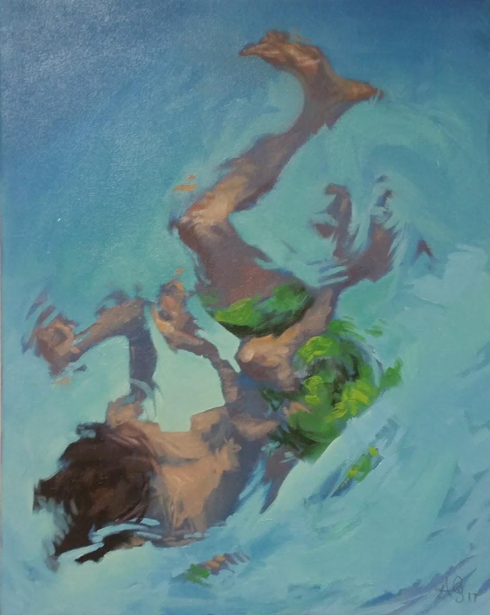 Swimmer (Tremor), 2017.