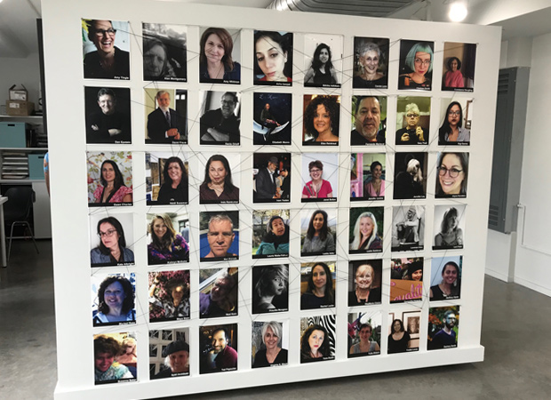 Participating Artists Photo Wall