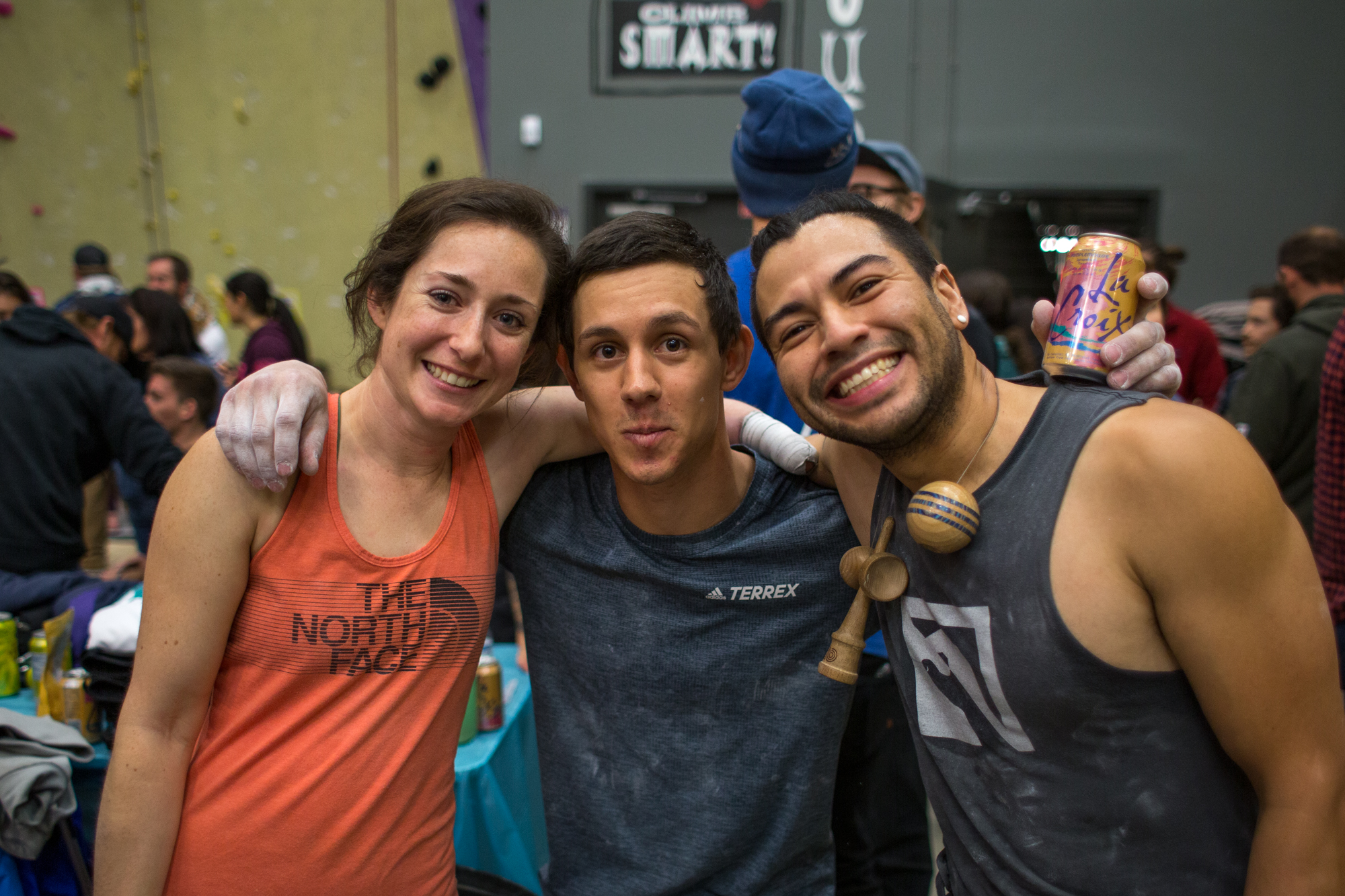 Myself, Justin and Jake at the 2019 Nationals once the climbing wrapped