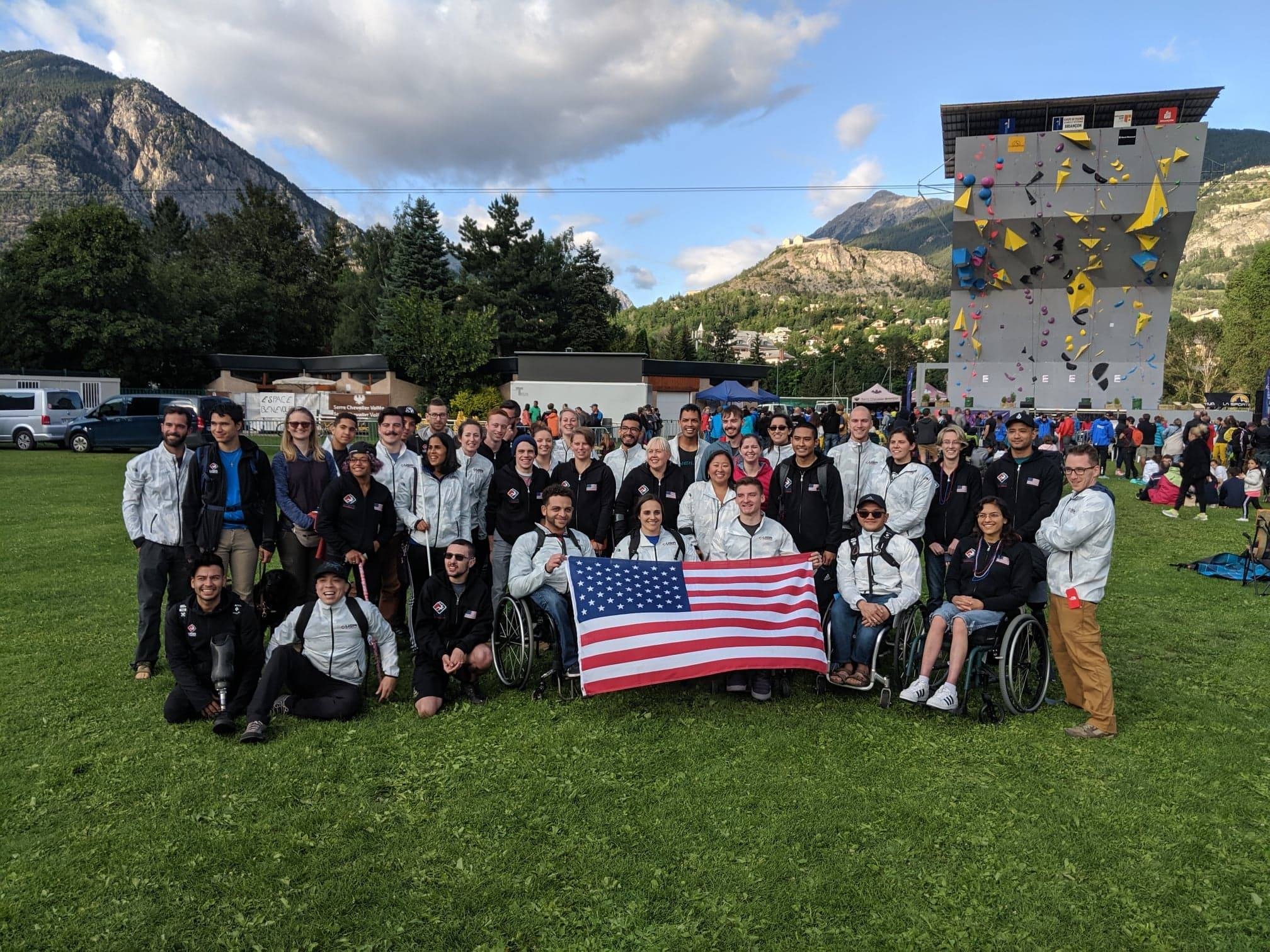 2019 Team USA Paraclimbing at the World Championships in Briancon, France