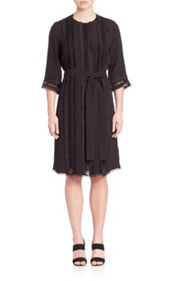 Adam Lippes  Embroidered Dress