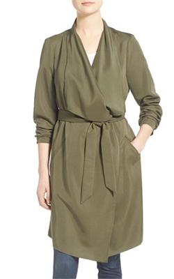 Kensie Trench Coat