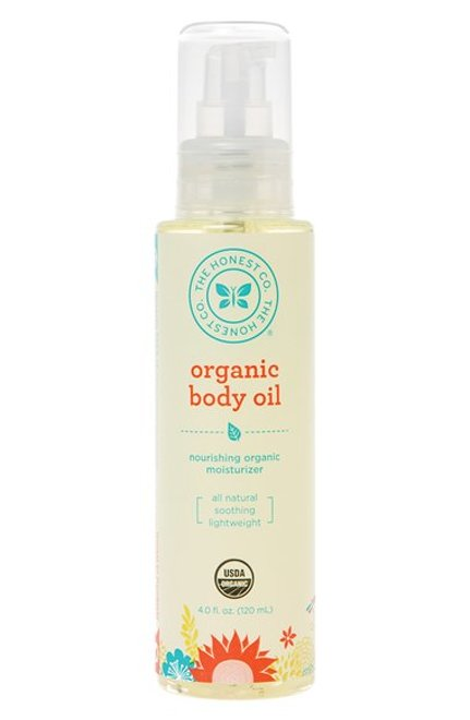 The Honest Company body oil