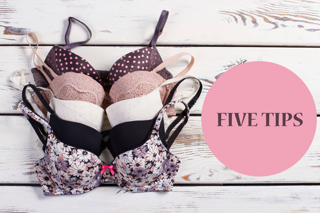 5 tips for finding the right bra