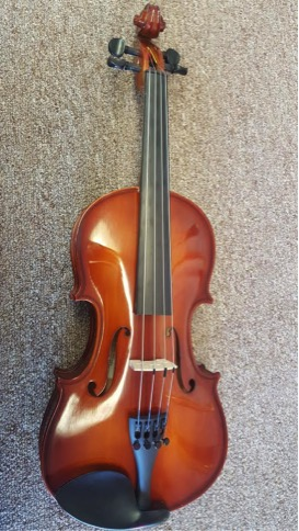 """Scherl and Roth 12"""" Viola   This viola is the ideal student model.  -Fully hand carved  -Spruce top and maple body  -Charles Music exclusive  Call for pricing."""