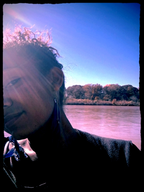 ...La Mestiza con el Rio Grande... NewMexico // 2016