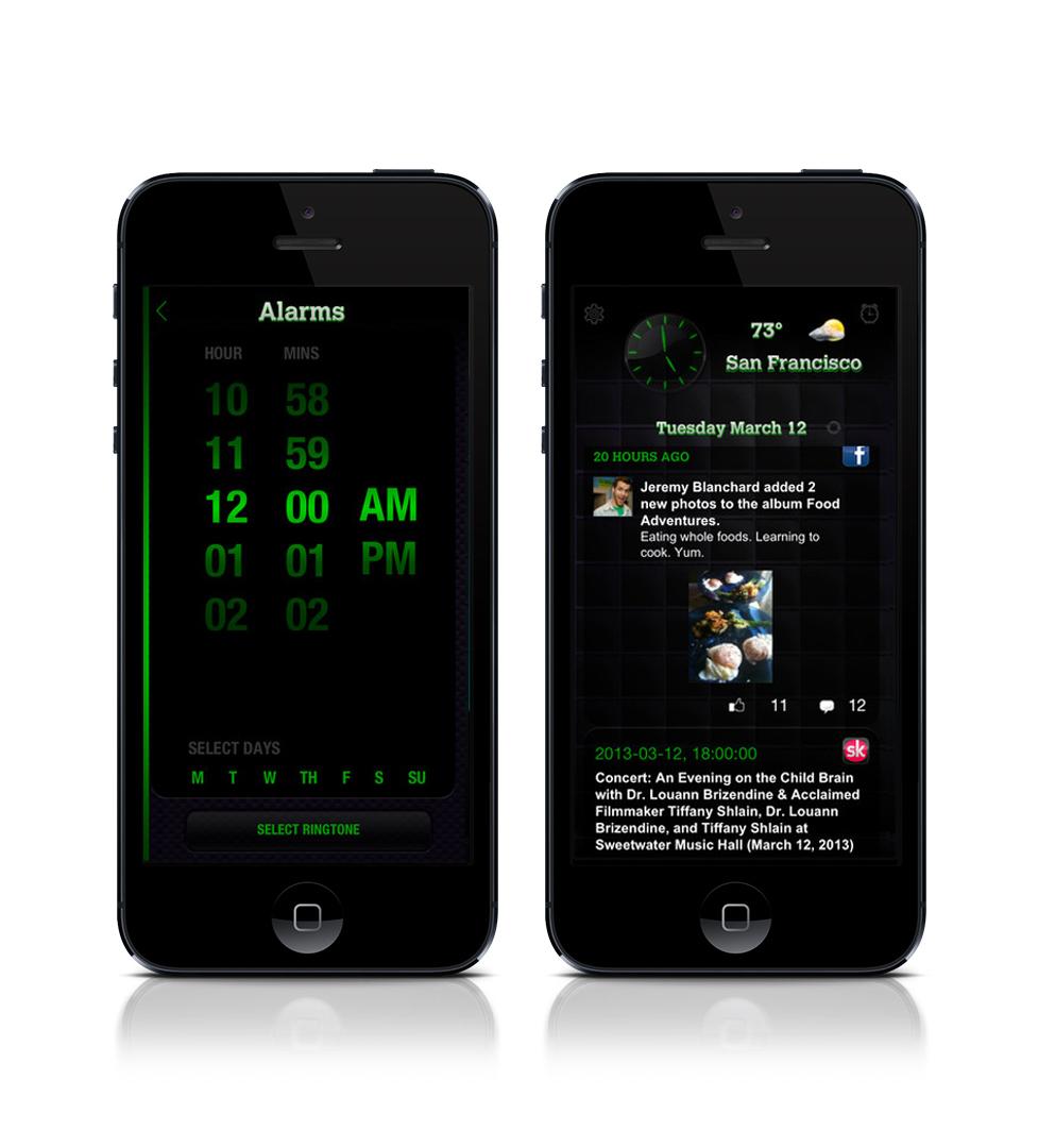 '24hr guy' - Mobile App Alarm function