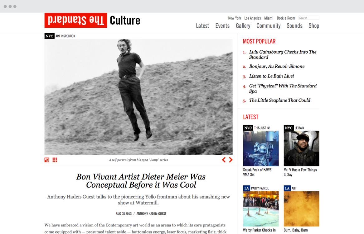Culture Blog - Video content