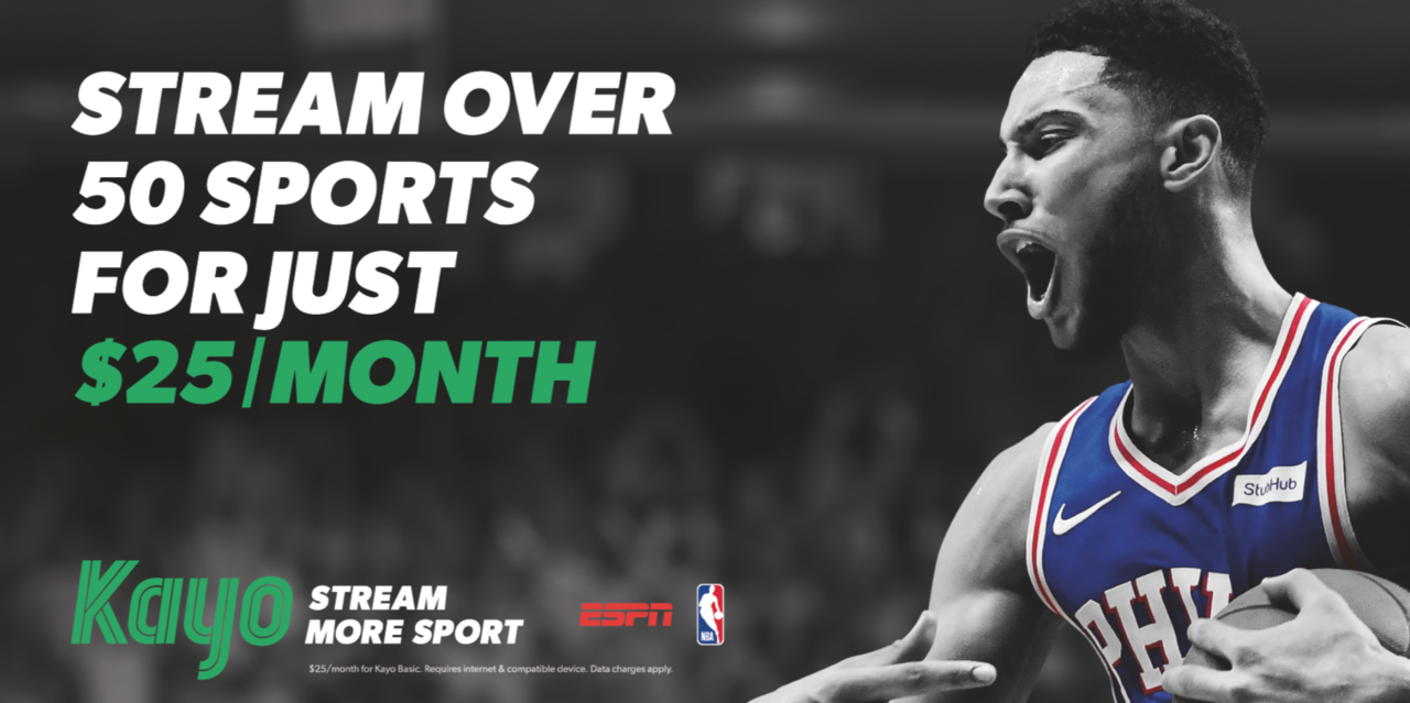 Kayo Sports launches with Ben Simmons as one of the hero ambassadors