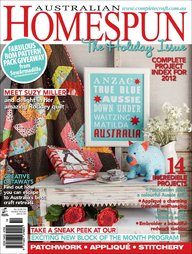 Australian Homespun No. 116 - January 2013