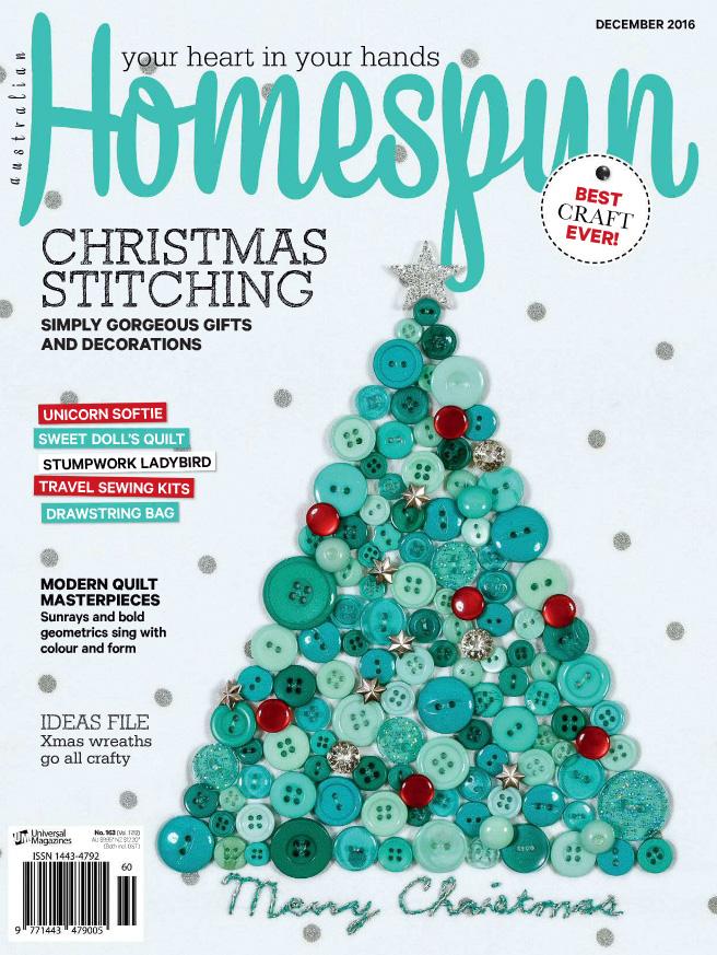 Australian Homespun No. 163 - December 2016