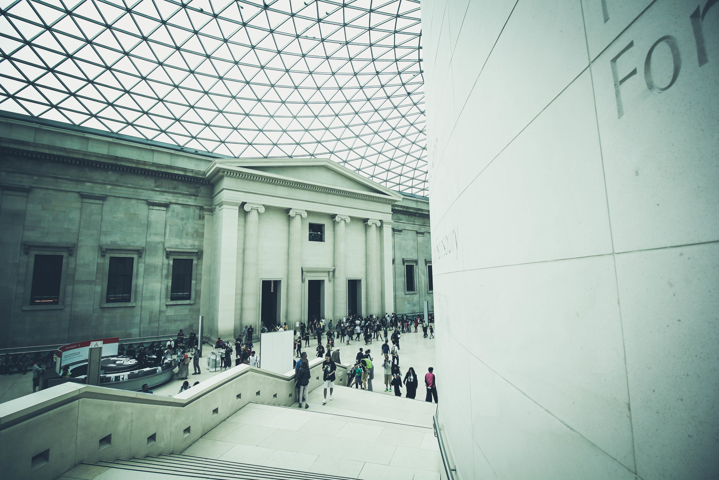 Managing global museum assets through a multi-layered IT system and digital asset management platform