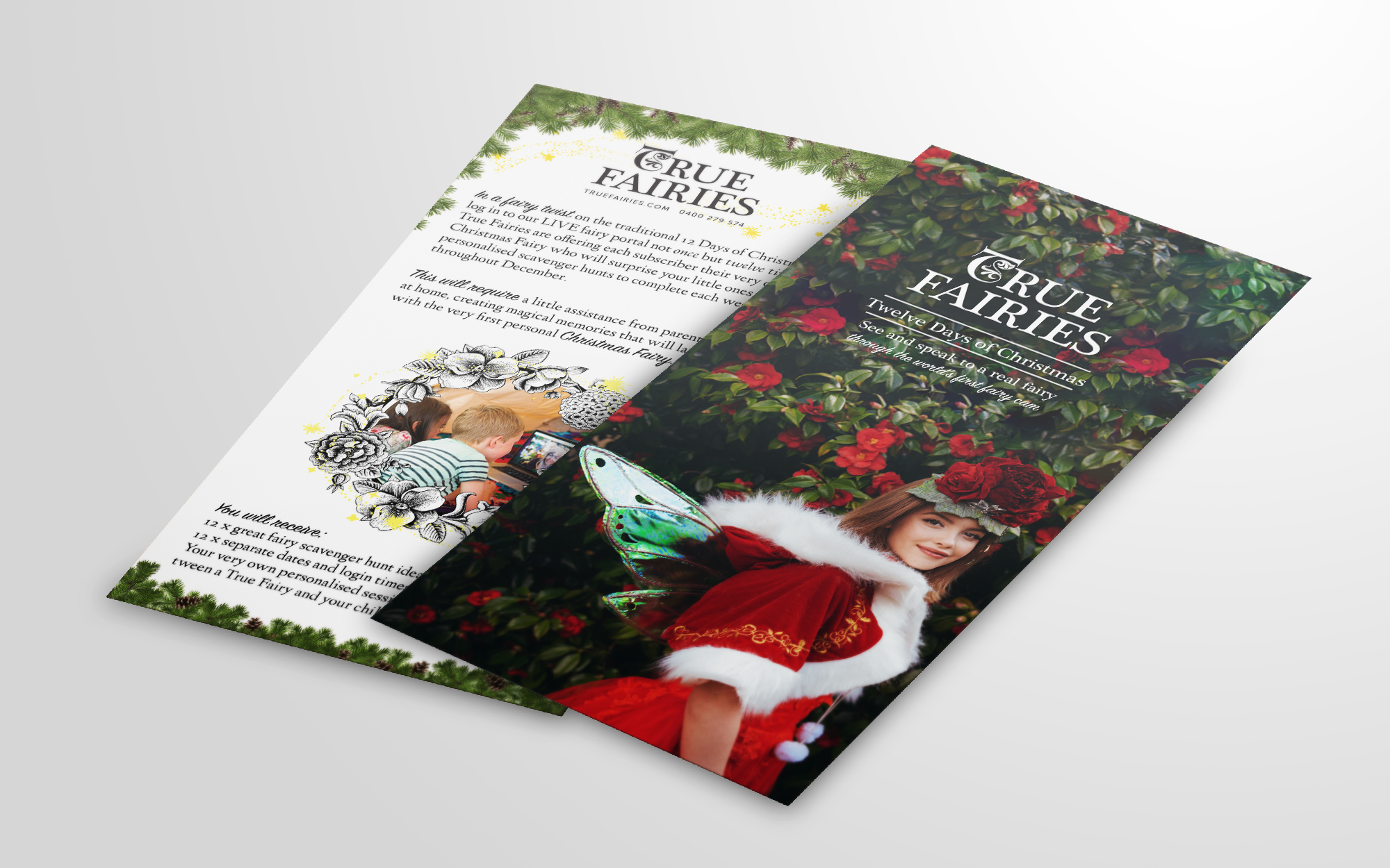 True Fairies / Photography and print design