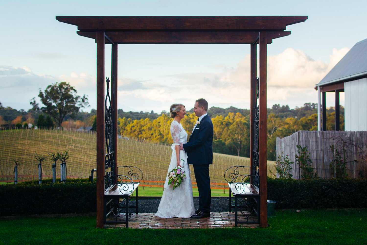 Adele & Matt - Yarra Ranges Estate, Monbulk