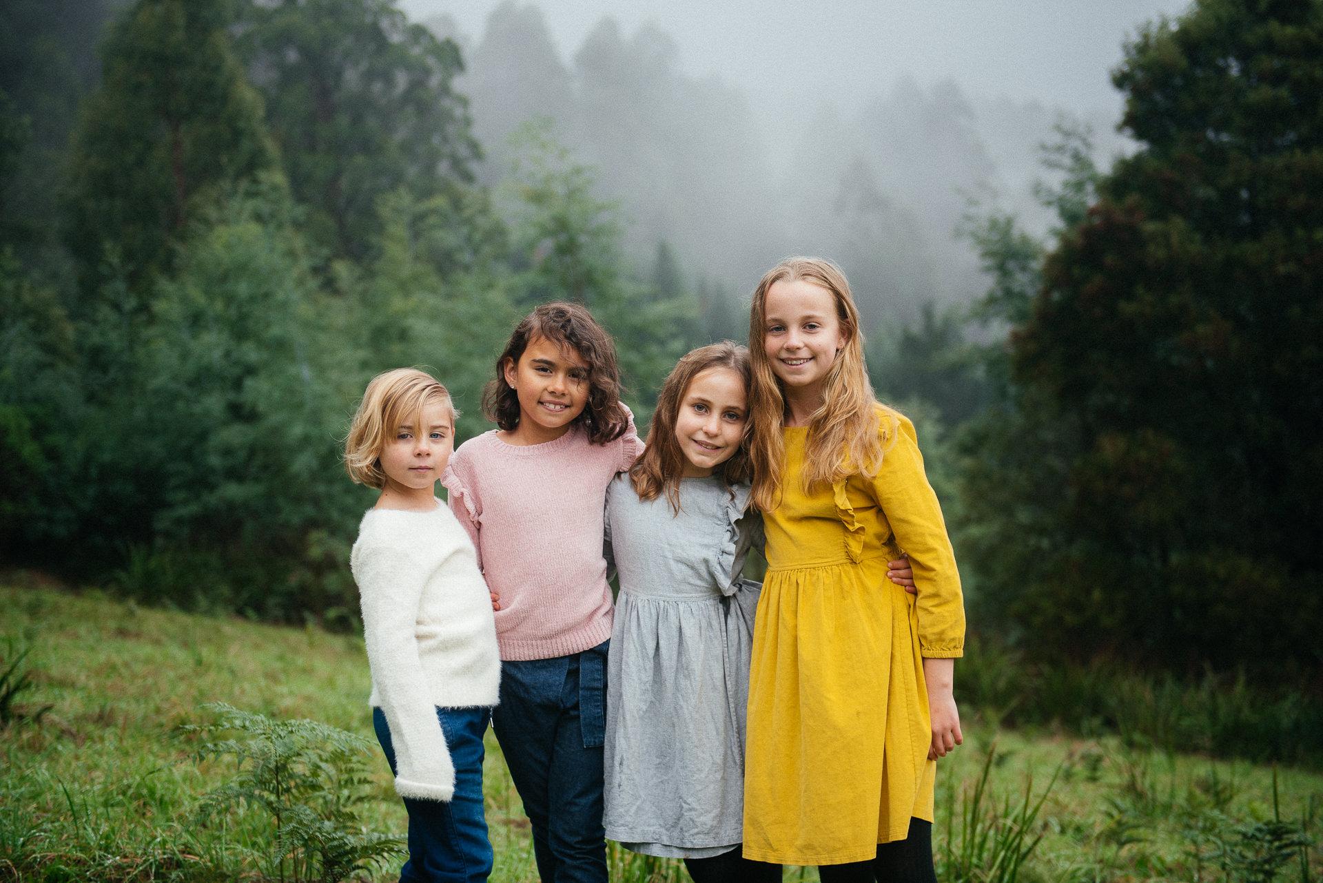 Maya, Eve, Edith & Ava