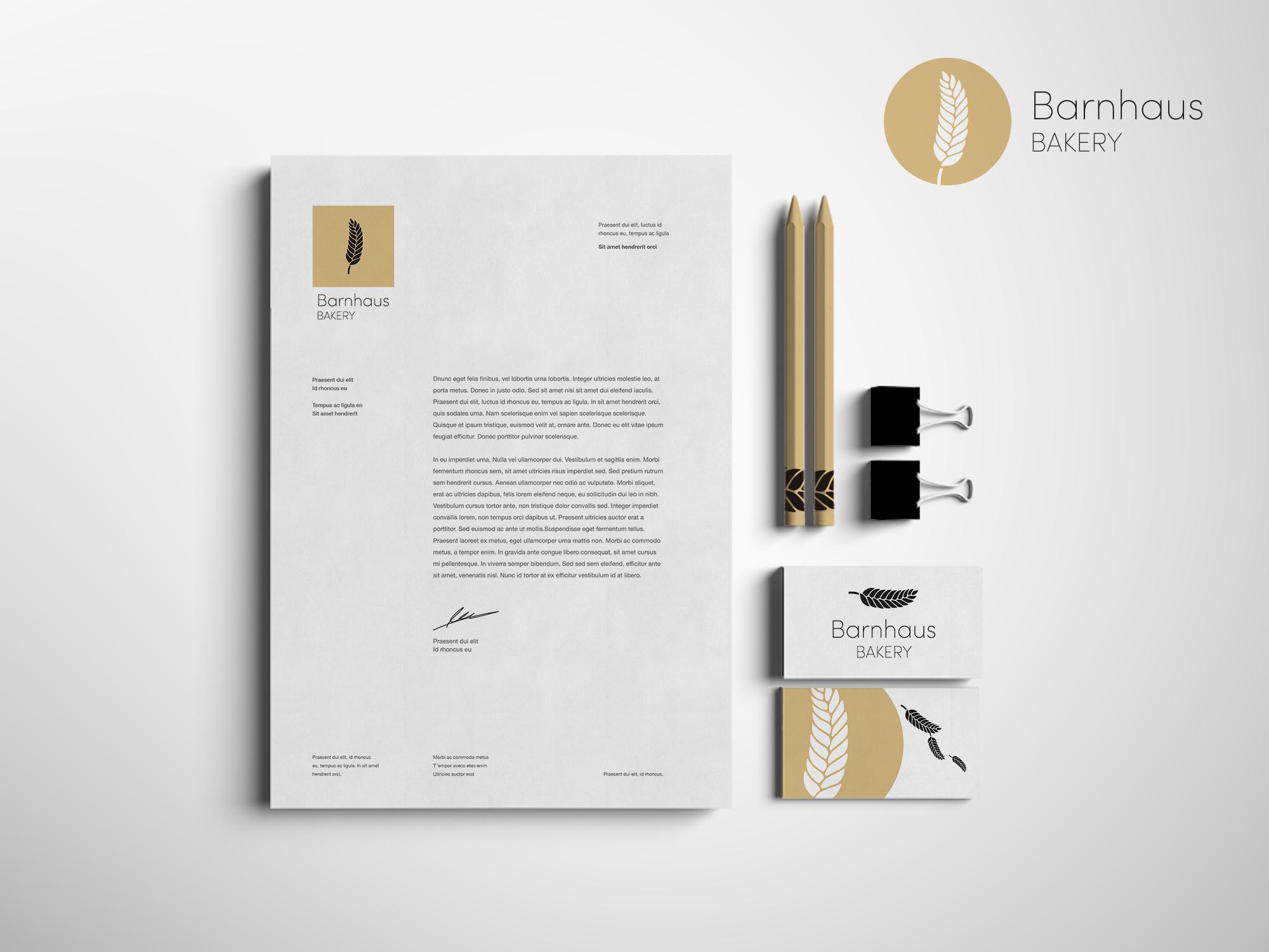 Barnhaus Bakery - Logo design