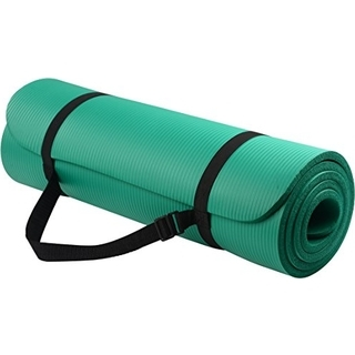 For the one who never misses a yoga class… - BalanceFrom Yoga Mat with Carrying Strap   $17.95