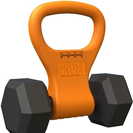 For the one who works out on vacation… - Kettle Gryp: Adjustable and Travel Friendly Kettle Bell   $34.95