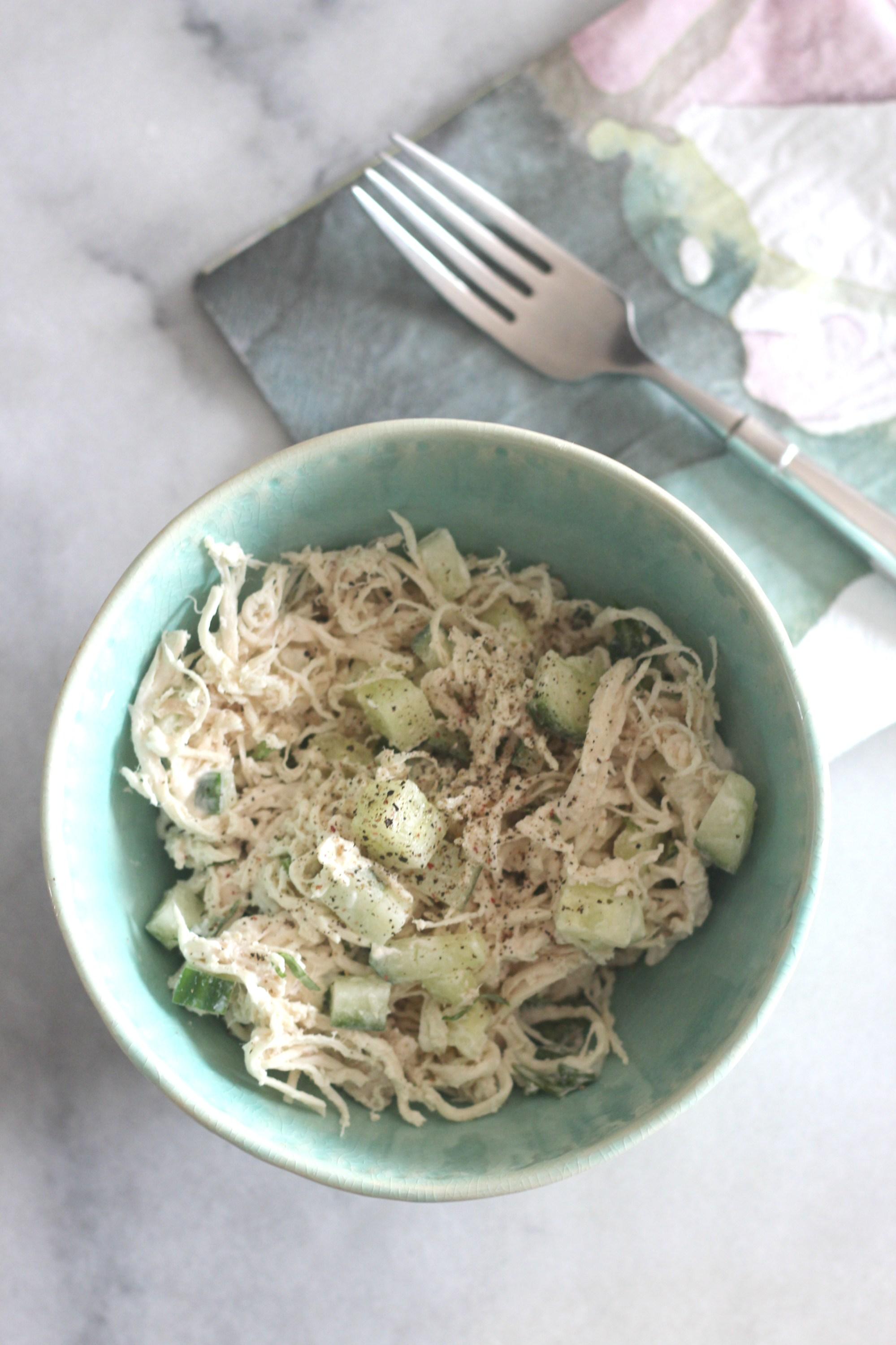 Source:  https://lowcarbdelish.com/cucumber-basil-chicken-salad/
