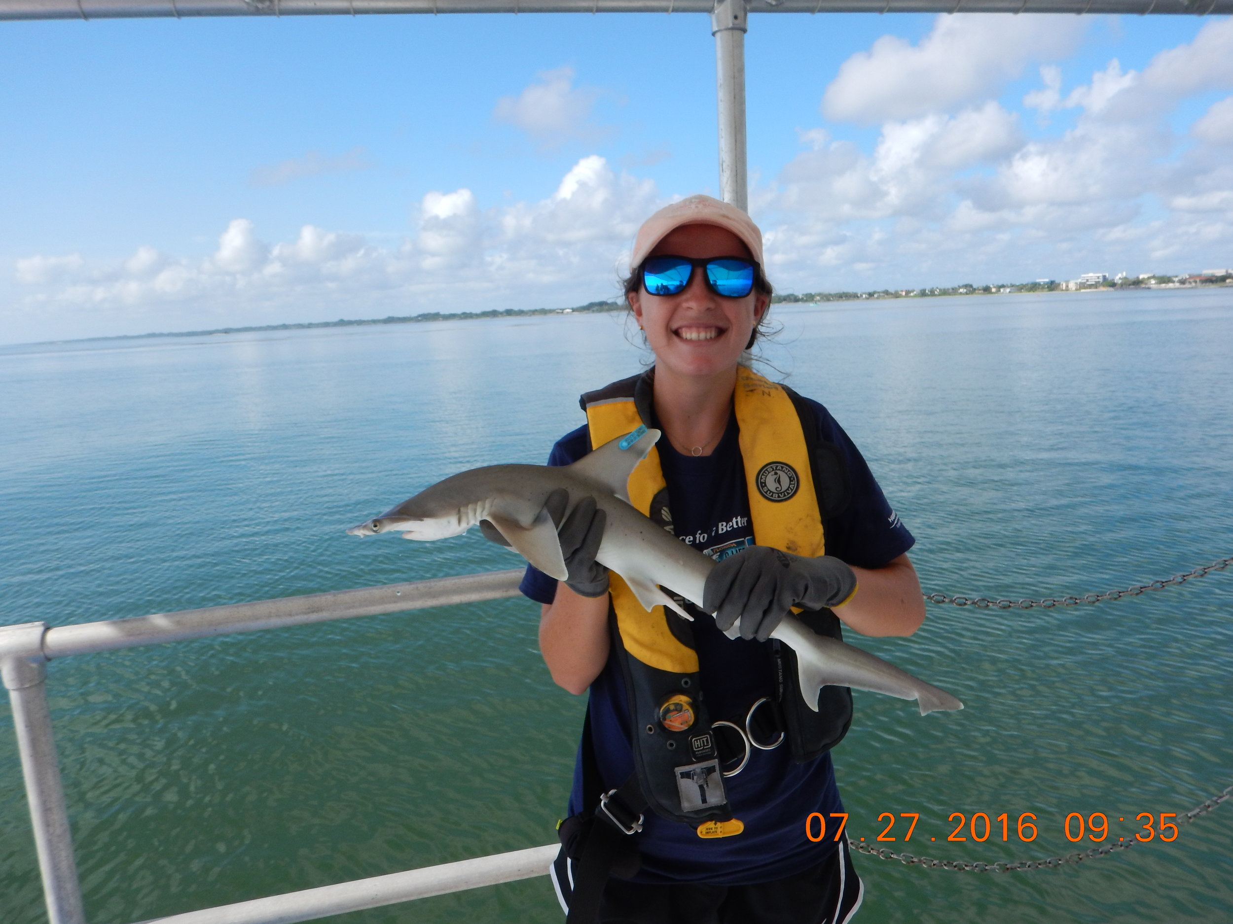 Sara Barrett - Sara Barrett worked with us in summer 2016 as a Fisheries Ecology intern. Sara studied at the University of Tampa, where she graduated in May 2017.Sara is now a graduate student at the University of Southern Mississippi, working under the supervision of Dr. Jake Schaefer.