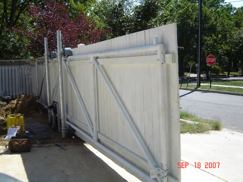 Automatic Outer Fence Doors