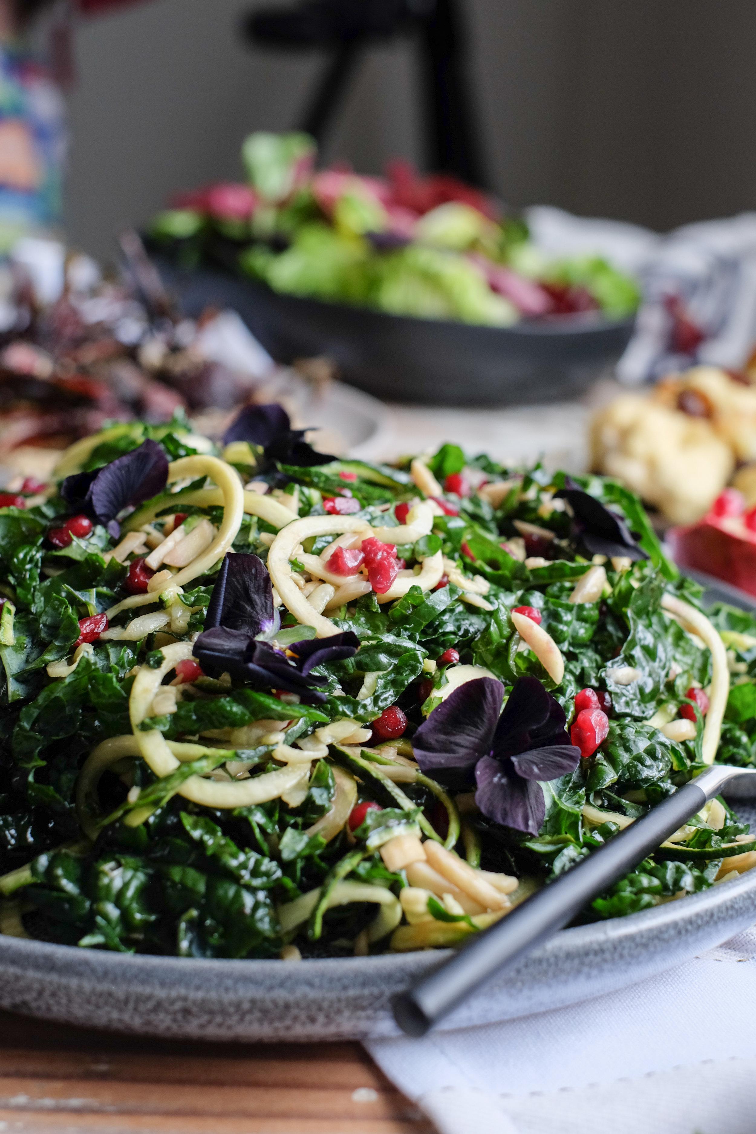 An easy festive salad with David Jones