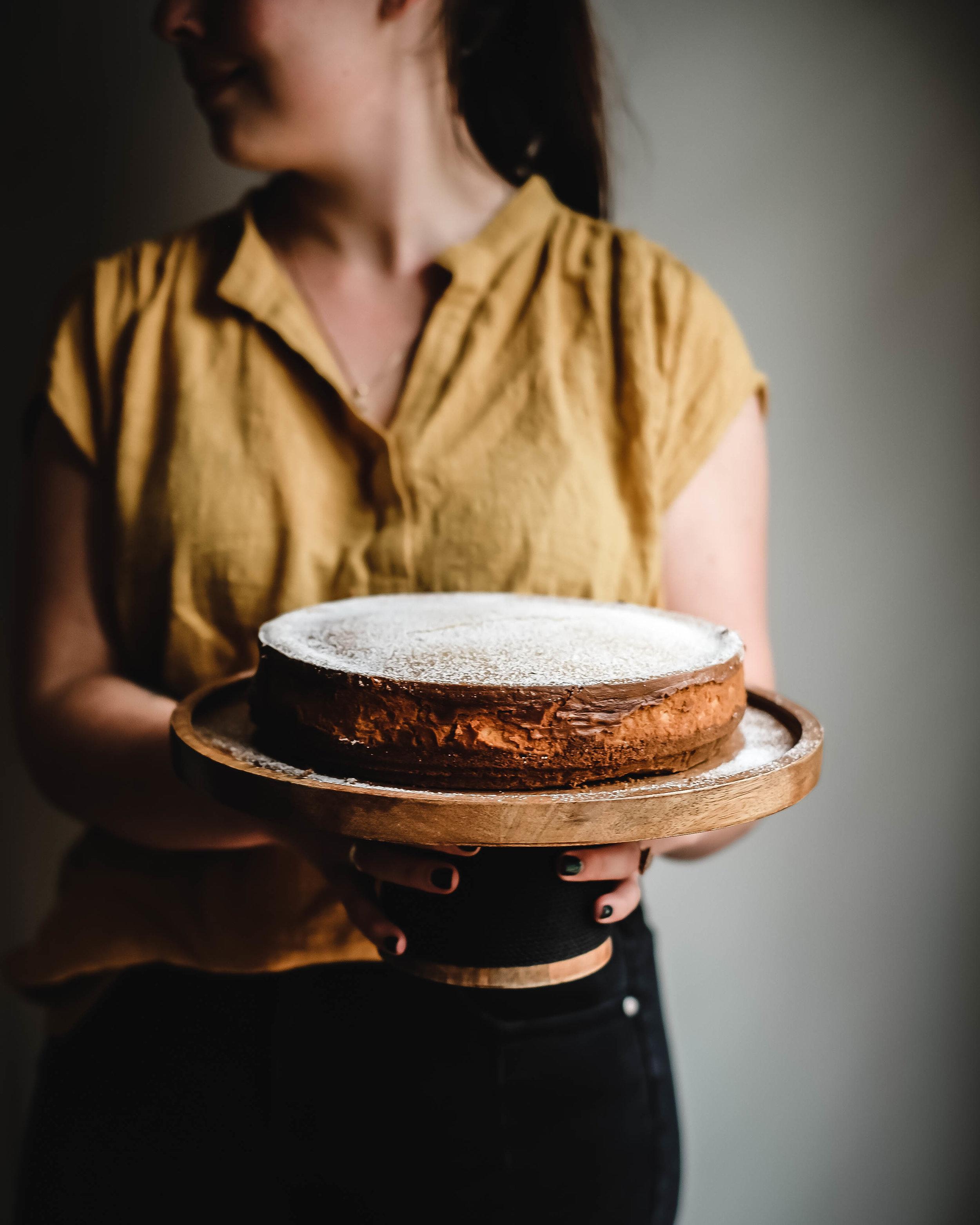 Vanilla Malted Milk Cheesecake