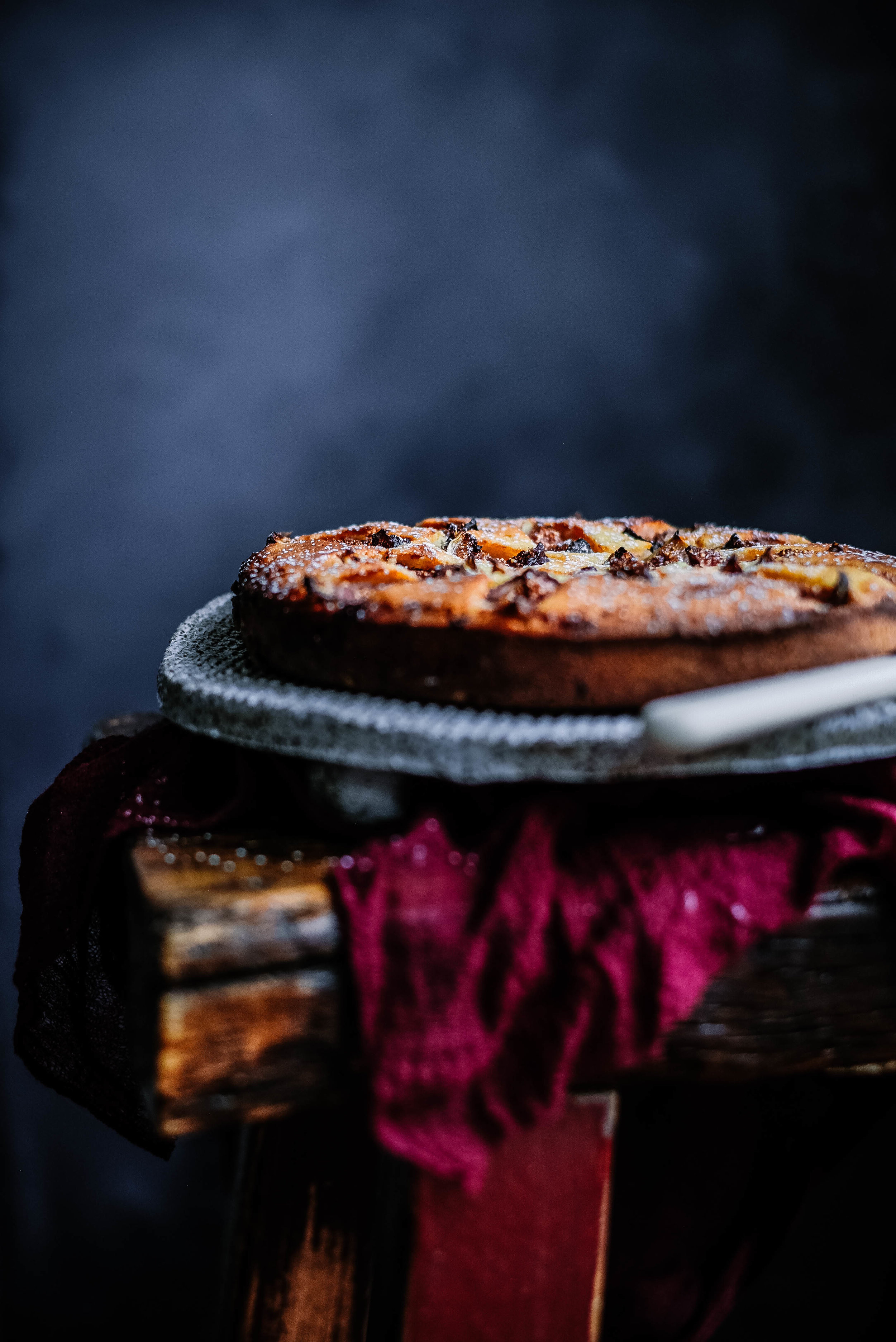 Fig and Hazelnut Cake