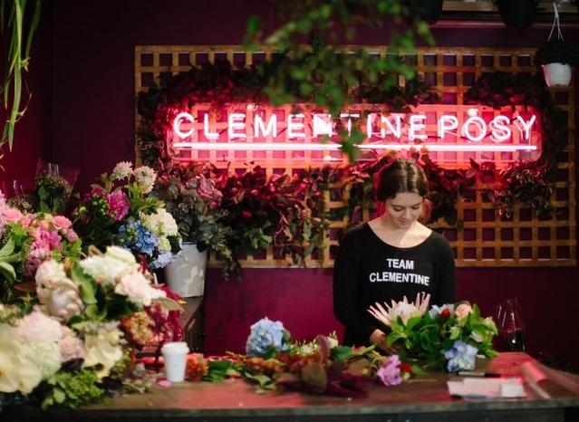 Clementine Posy Wedding Florist Stylist