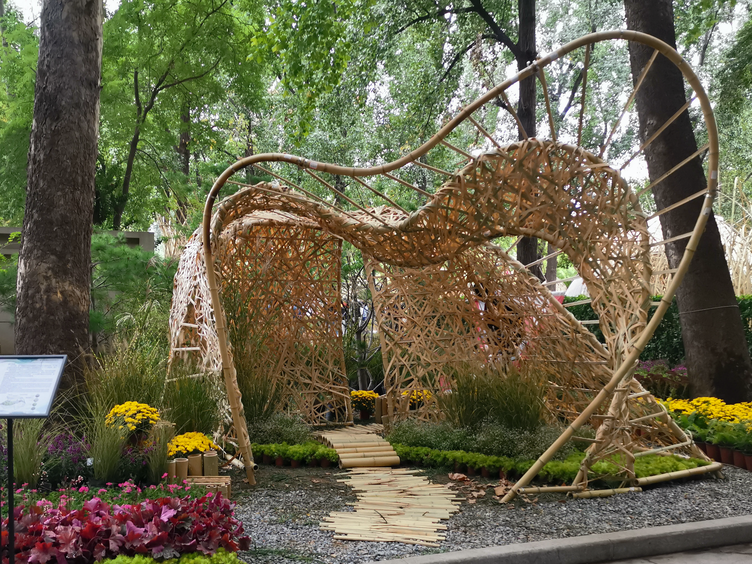 The Garden as designed and built by BLAD students