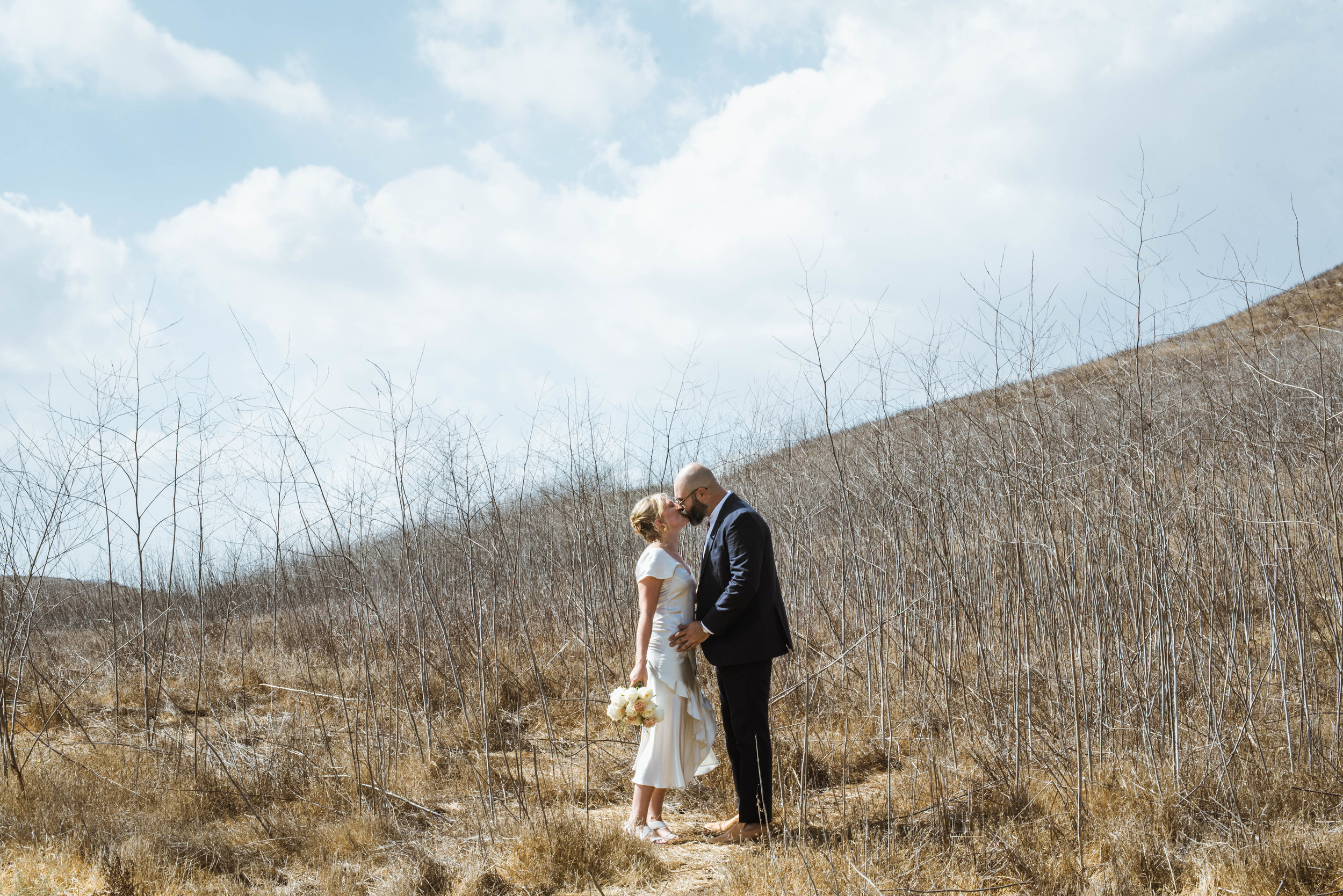 Intimate Backyard Wedding | Woodland Hills, CA