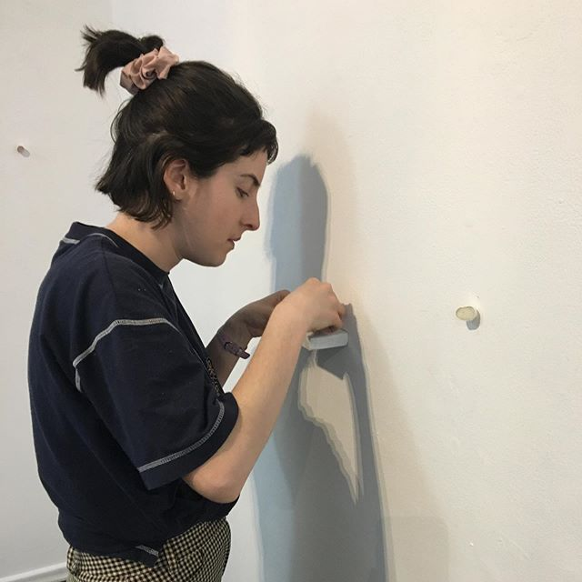 Monique Tregenza Installing today at Woolloongabba Art Gallery for our group show, Subtle, opening this Friday night, 6-8pm. I would love to see you there and I can't wait to share new work with you! More teaser shots to come! #bneart #fridaythe13 #bethereorbesquare