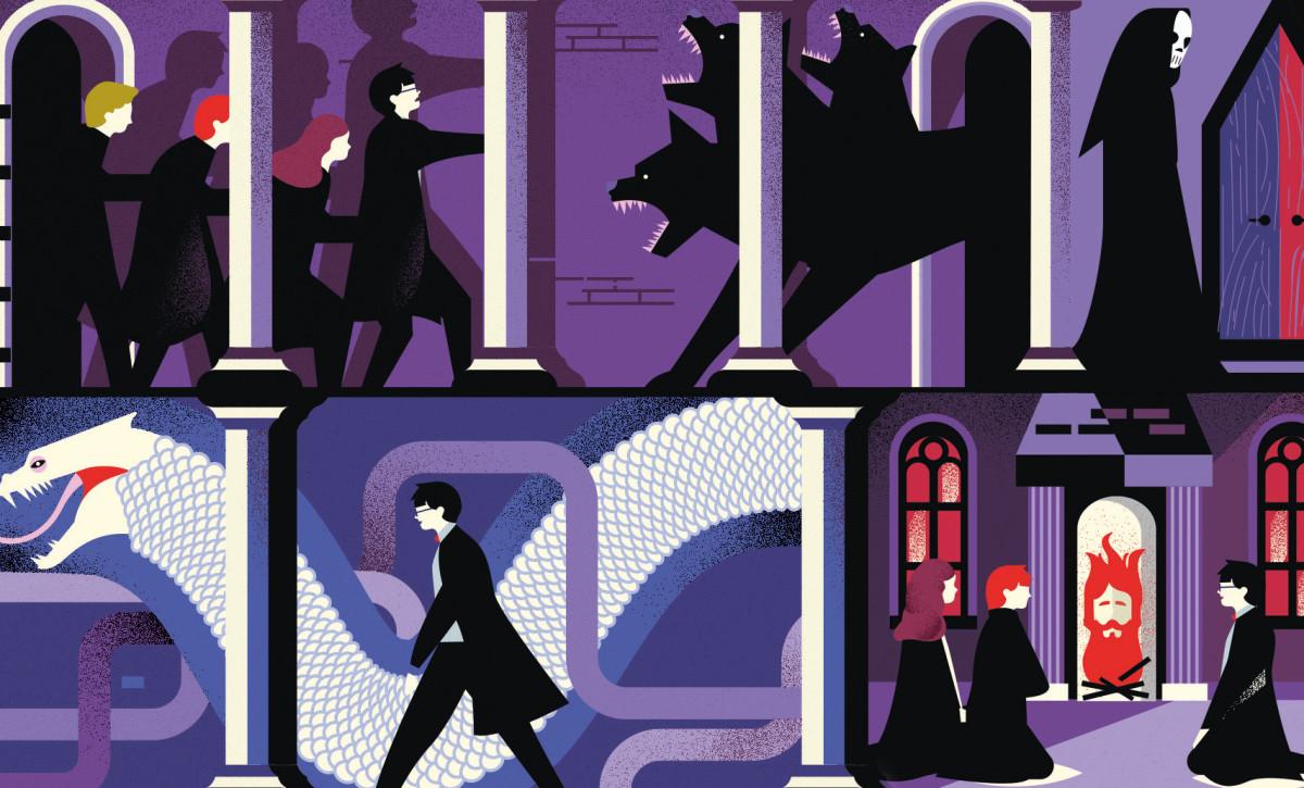 "Detail from ""Secret Passageways"" infographic"