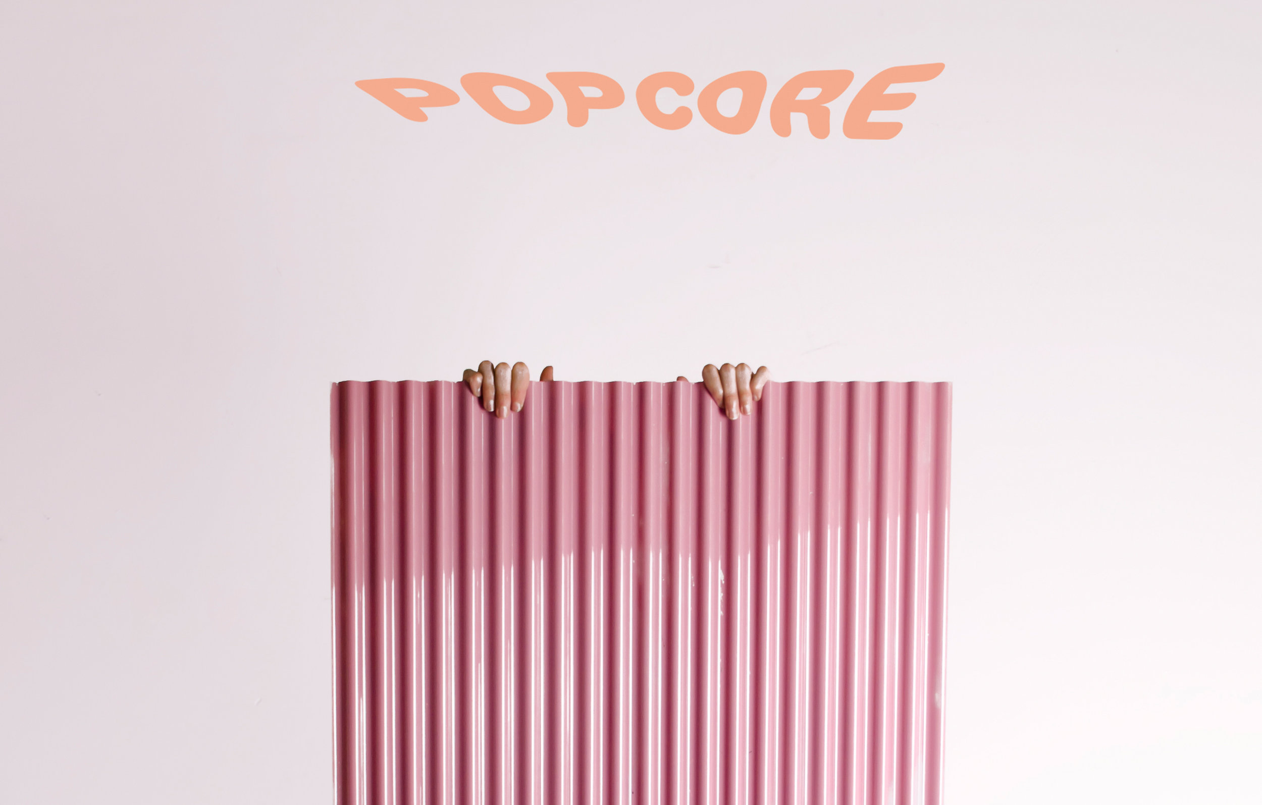 "Acoustic landscapes part of the "" popcore "" exhibition during Dutch Design Week 2016"