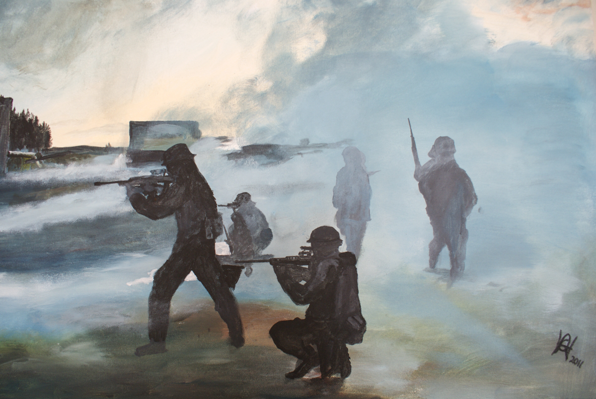 Andy Hollinghurst, Army Painting-1.jpg