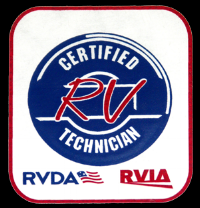 Our Technicians are RVIA Trained. All employees are required to be working toward their RVIA Master Technician Trained Cirtification.