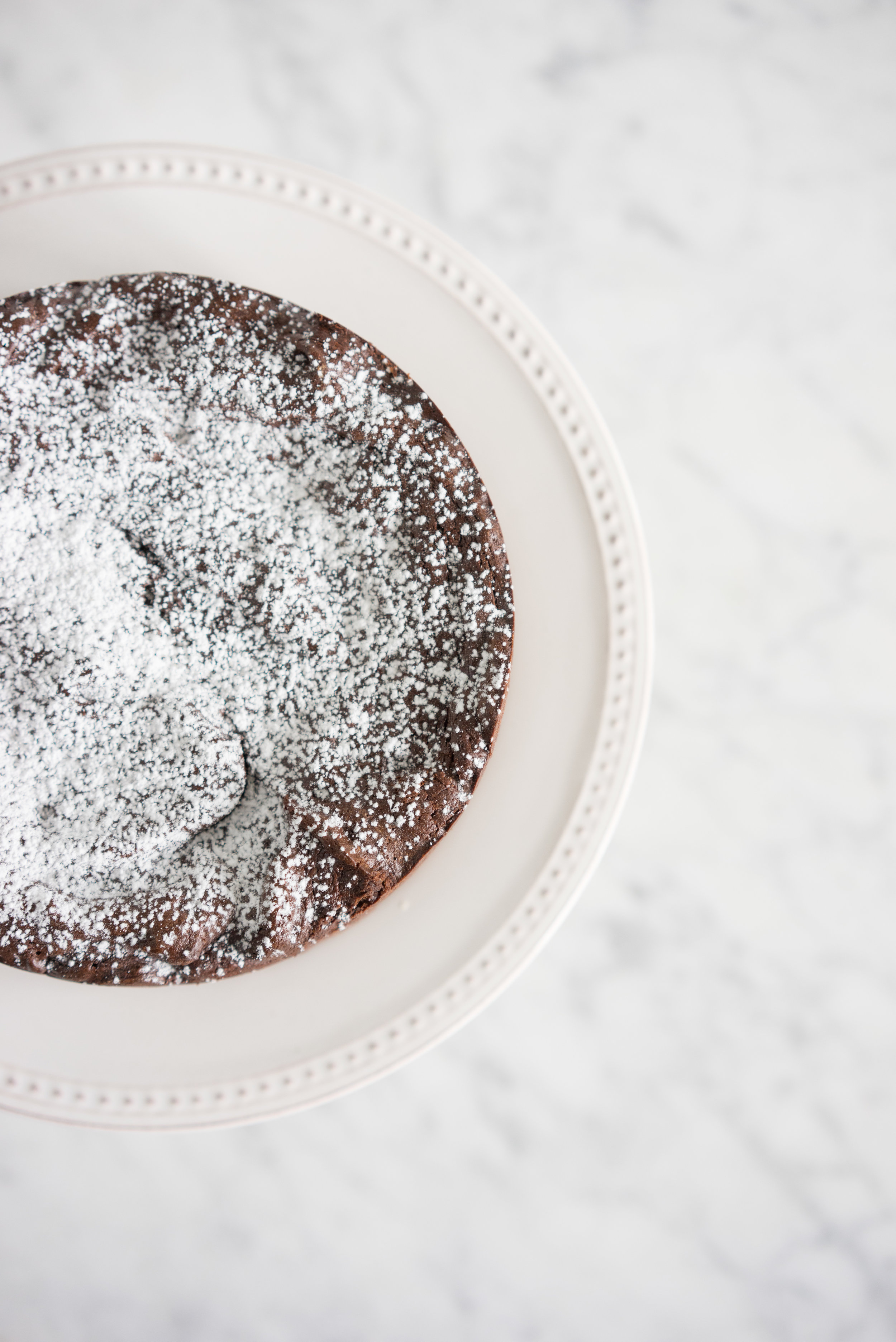 Flourless chocolate cake - dense and rich, with a huge chocolate hit
