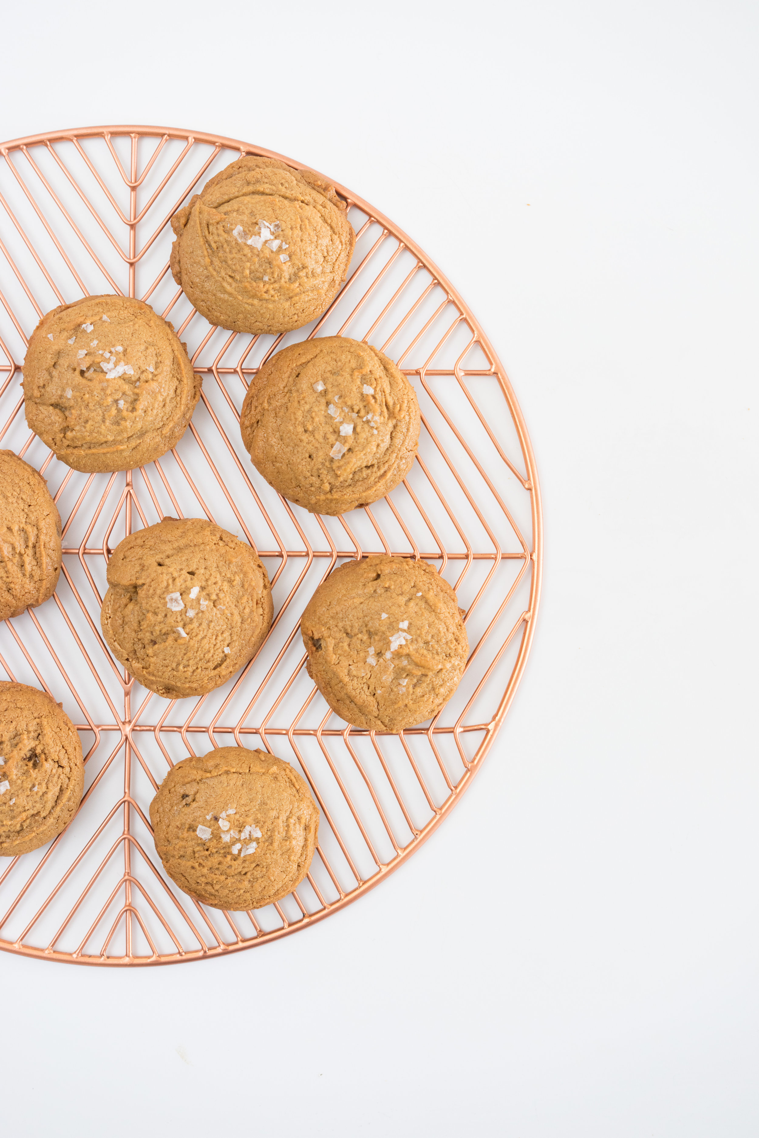 Gluten free, Dairy Free Peanut Butter Cookies - super simple, four ingredient cookies