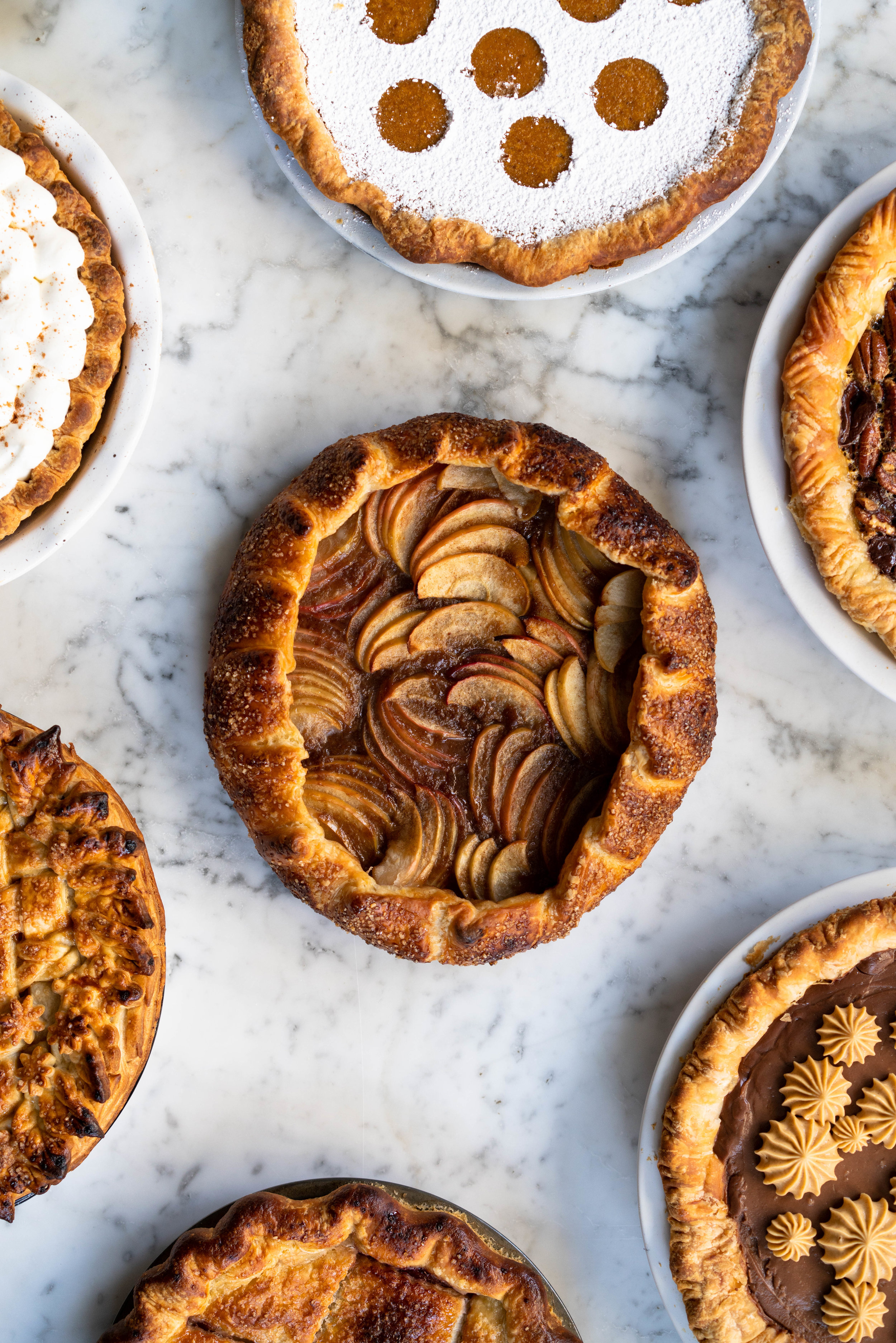 Nine of the Best Thanksgiving Pie Recipes: the Ultimate Pie Roundup Post! This roundup post lists some of the best thanksgiving pie recipes - there is literally something for everyone. Make just one or mix and match for the ultimate thanksgiving pie spread. #thanksgiving #pierecipes #roundup